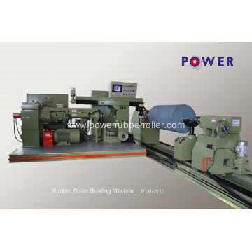 Automatic Rubber Roller Coating Machine